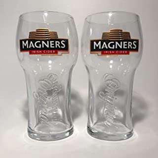Magners Irish Cider - 20 Ounce Glass - Set of 2