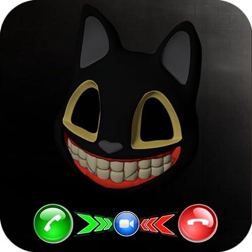 Incoming Video Call Cartoon Cat