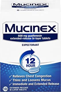 Best mucinex 12 hour 600 mg Reviews