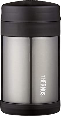 Thermos® FUNtainer® Vacuum Insulated Food Jar, 470ml, Charcoal, F3024CH6AUS