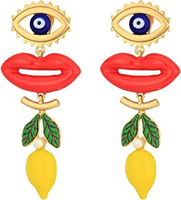 Tory Burch - Crazy Charms Statement Earrings