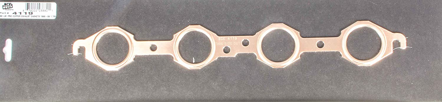 Exhaust Manifold Header Gasket Pro Large in 1.780 Round Inexpensive Copper Latest item