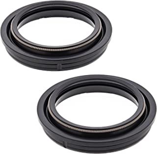 New All Balls Fork Dust Seal Kit 57-101 for Suzuki GSX-R 600 1997 1998 1999 2000 2001 2002 2003, RM 125 1991 1992 1993 1994 1995, RM 250 1991 1992 1993 1994 1995, RMX 250 1991 1992 1993 1994-1999