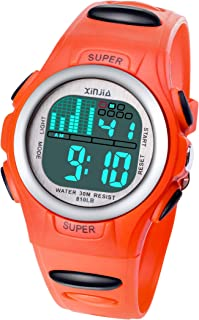 Digital Watches for Kids Boys Watch Girls Boys 7LED Watch...