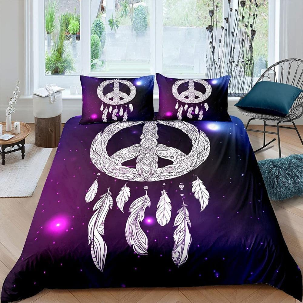 Twin Duvet Covers Purple Dream In a popularity Bedding Catcher C Care Easy Max 88% OFF