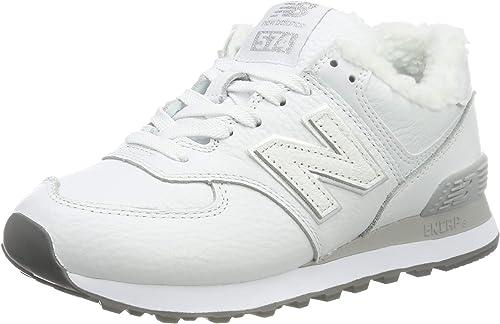 New Balance 574v2, Sneaker Donna, Bianco (White/Grey White/Grey ...