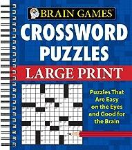 Brain Games - Crossword Puzzles - Large Print
