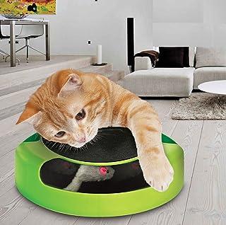 e462b8857e Prime Paws Meow Chat Chaton Attraper la Souris de Jeu Jouet interactif en  Peluche à Griffe