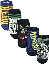 My Hero Academia 5 Pack Ankle Socks Standard