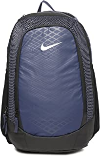 22c65f6108d Nike 25 Ltrs Thunder Blue/Black/Metallic Silver Casual Backpack (BA5474-471