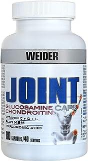 Weider Joint Caps. Protección articular. Contiene Vitaminas E. D. C y Ácido Hilaurónico (80 Cápsulas)