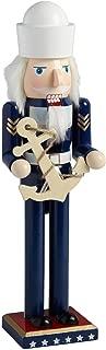 "15"" Marine Soldier Nutcracker with Anchor"