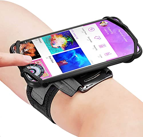 Newppon 360° Rotatable Running Phone Armband :with Key Holder for Apple iPhone 12 11 Pro Max Xs XR X 8 7 6 6S Plus Sa...
