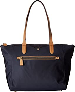 a8630042164d Michael michael kors kempton large north south tote navy nylon ...