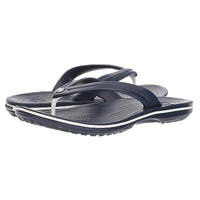 Crocs Crocband Flip (Navy) Shoes