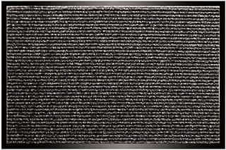 Utility Mats Apache Rib Doormat - Pepper Black