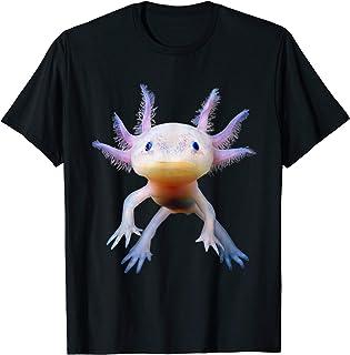 Axolotl Mexican Walking Fish Cute Amphibian Axolotl T-Shirt