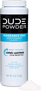 fragrance free body powder