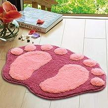 Modern Home Carpet Absorbent Carpet Non-Slip Carpet Kitchen Carpet Bedroom Carpet Bathroom Door Rug Bath Mat Washable Soft...