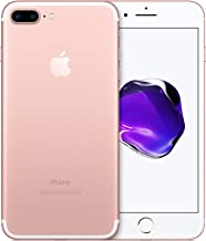 Apple iPhone 7 Plus, Boost Mobile, 32GB - Rose Gold (Renewed)