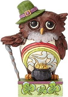 Jim Shore Heartwood Creek by Enesco Mini Irish Owl Figurine 3.5 in
