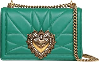 Luxury Fashion | Dolce E Gabbana Womens BB6652AV96780530 Green Shoulder Bag |