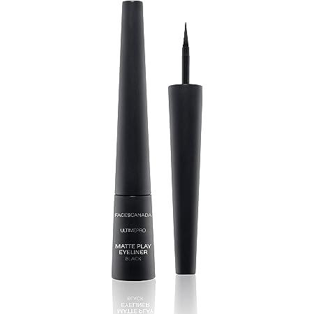 Faces Canada Ultime Pro Matte Play Eyeliner Black 01 2.5 ml (Black)