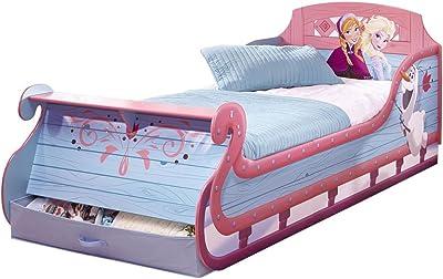 Bebegavroche Pack Premium Gran Cama Trineo Frozen Disney=Cama + colchón & – Juego +