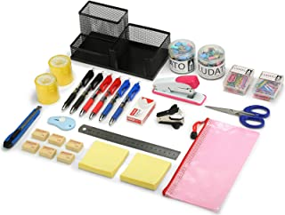 39-Piece Office Supplies Set, Office Stationery Set,Desk Accessory Kit,Office Supply Kit for Home Office Necessary— Pen Ho...