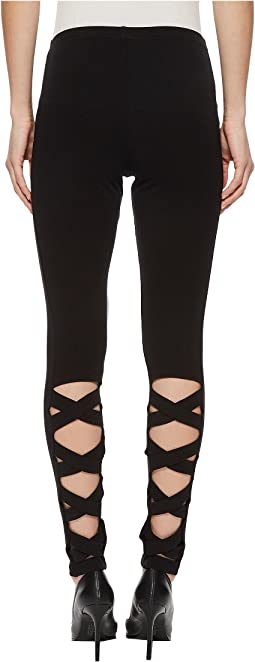 Crisscross Cotton Leggings
