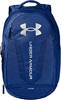 Under Armour Hustle Backpack, Royal (400)/Silver, One Size Fits All