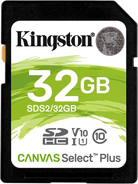 Kingston Canvas Select Plus SD - SDS2/32GB Class 10 UHS-I
