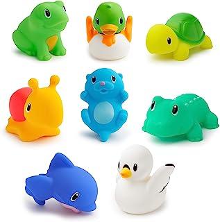 Munchkin Lake Squirts Bath Toy, 8 Pack