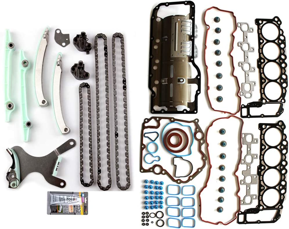 AUTOMUTO Engine Timing Part Chain kit Spring new work Dodge Head for Sets Gasket Limited Special Price