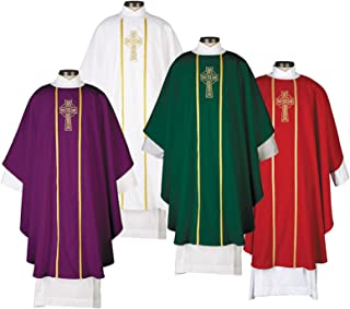 R.J. Toomey Celtic Cross Chasubles - 4/Set