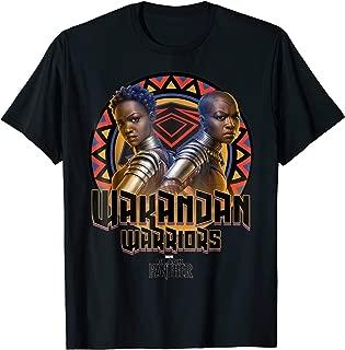 Black Panther Movie Warrior Circle Graphic T-Shirt