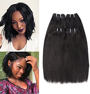 Brazilian Straight Hair 4 Bundles 8
