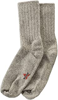 Wigwam Unisex El-Pine Warm Wool Heavyweight Socks, Grey Twist, MD