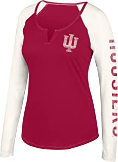 NCAA Women's Notch Neck Long Sleeve Tee
