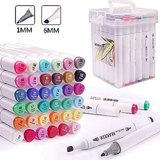 punta da 1 mm colore a olio Pennarelli indelebili Multicolore 6 mm