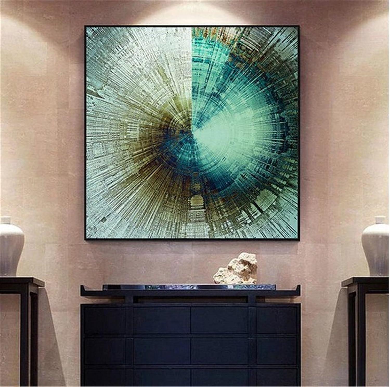 se descuenta BENJUNmoderno Minimalista Entrada Abstracta Pintura Decorativa Loft Sala de EEstrella EEstrella EEstrella Dormitorio Pintura Mural Hotel murales Colgantes de Lujo Ligero Mural (42  42 cm)  para barato