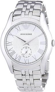 ساعة يد كوارتز للرجال من امبوريو ارماني، بعرض كرونوغراف وسوار من الستانلس ستيل - AR1711