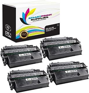 Smart Print Supplies Compatible 05A CE505A Black Premium Toner Cartridge Replacement for HP Laserjet P2030 2050 Series Printers (2,300 Pages) - 4 Pack