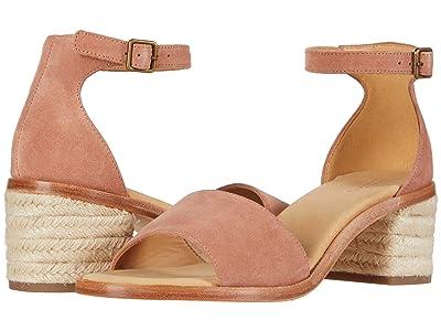 Soludos Capri Mid Heel (Sahara Pink) Women