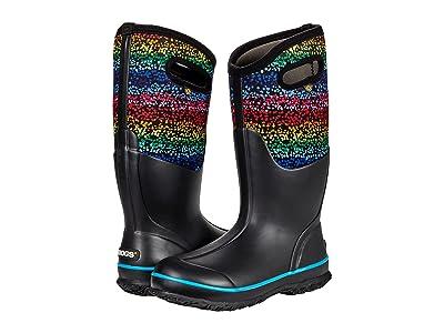 Bogs Classic Tall Design-a-Boot Rainbow Dots