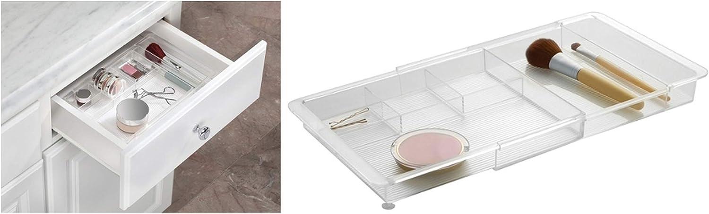 vielseitige Sortierbox Make-up Aufbewahrungsbox Make-up Kosmetiktasche Box f/ür Schlafzimmer Badezimmer B/üro SAMTITY Kunststoff Make-up Schubladen Organizer Box Schmuck Aufbewahrungsbox Container