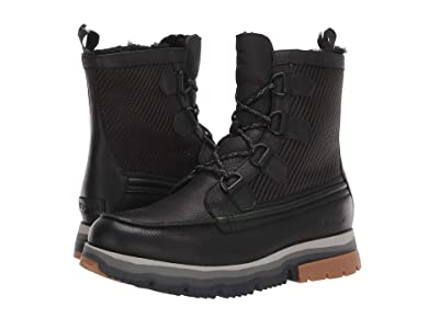 SOREL Atlistm Caribou Lux Waterproof (Black) Men