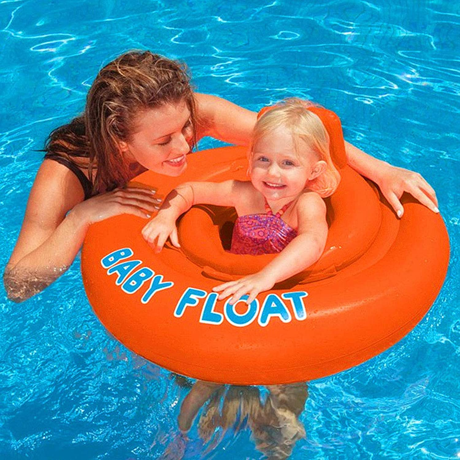 Inflatable Pool Float, Fun Beach Floaties, Swim Party Toys, Summer Pool Raft Lounge for Kids