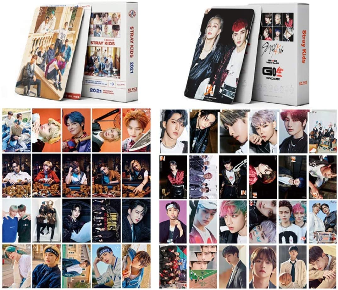 2Pack 108PCS STRAY KIDS Tulsa Mall Photocards Col Lomo Courier shipping free for Cards