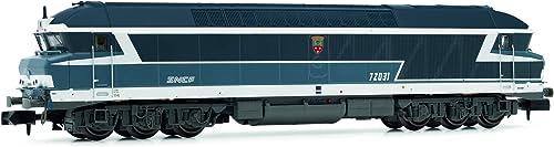 Arnold HN2384 Diesellokomotive CC 72000 der SNCF,en Voyage, Epoche VI Modellbahn, Blau